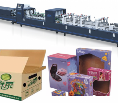 YDS-600BTG Carton toy box gluing machine