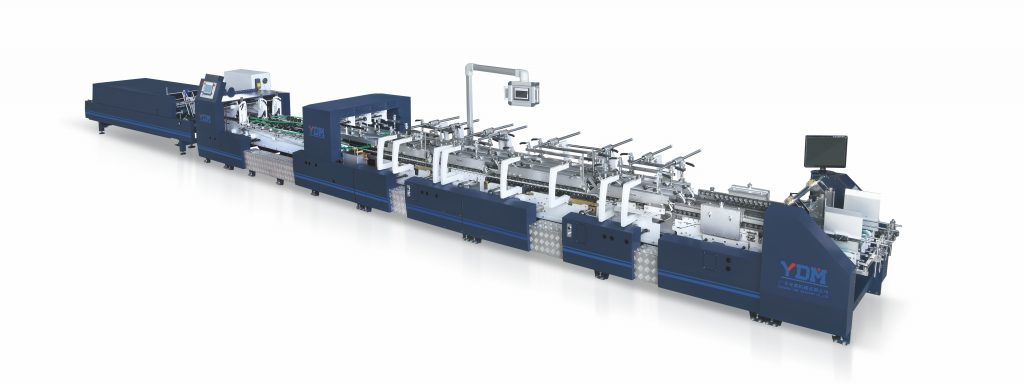 ST-1200BTG High speed carton box fruit box folder gluer Guangdong