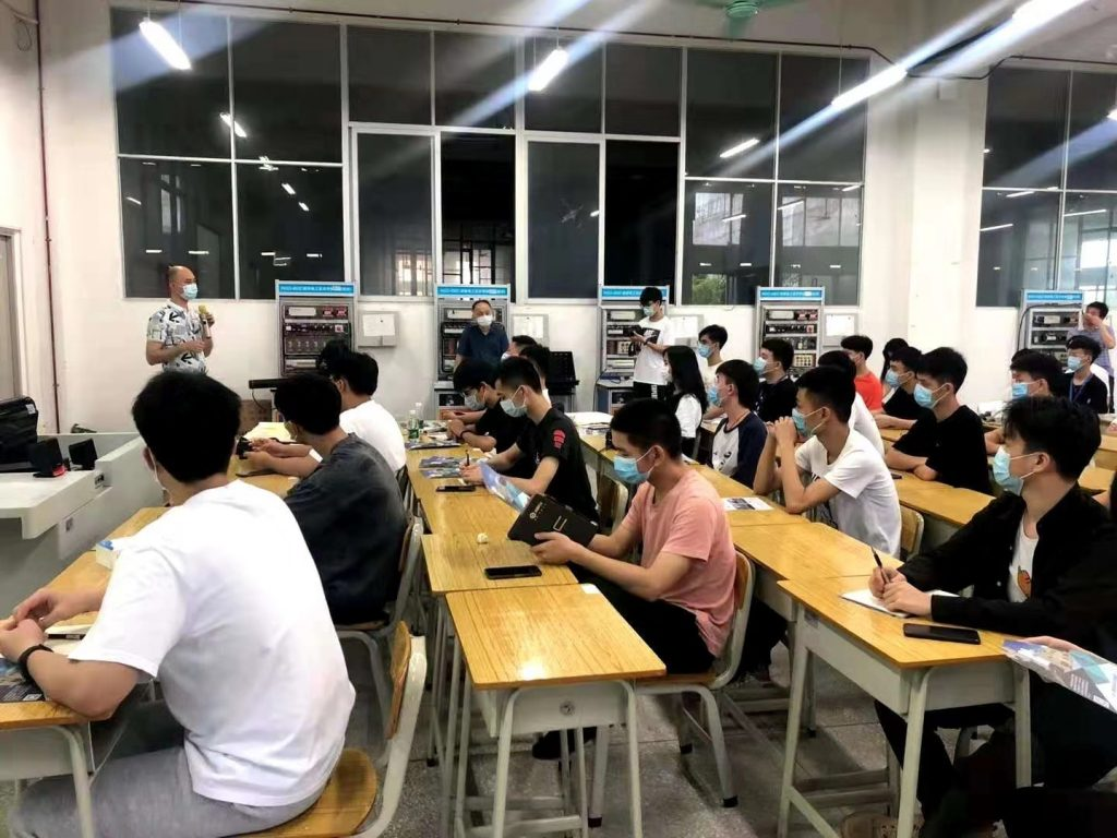 YDM trains college students as engineers